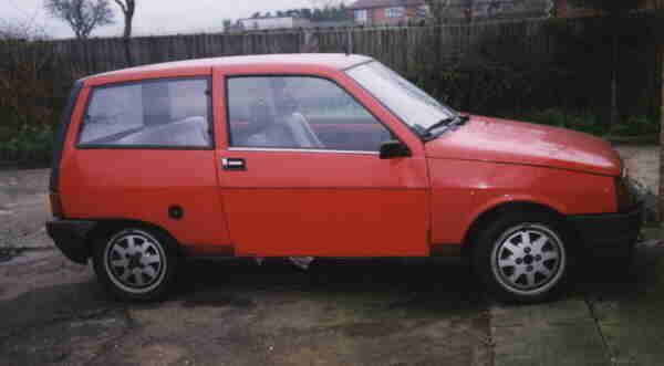 My Lancia Y10 Turbo